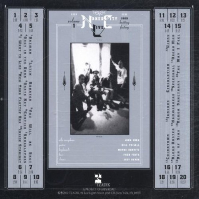 Naked City Live, Vol. 1: Knitting Factory 1989 - Naked
