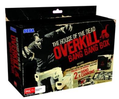 House Of The Dead Overkill Bang Bang Box Set By Sega Shop Online