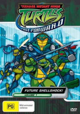 Teenage Mutant Ninja Turtles Fast Forward Volume 1 Future