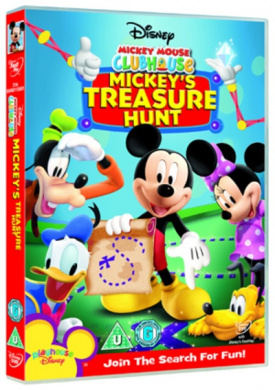 Mickey Mouse Clubhouse Treasure Hunt by WDHE - Shop Online ...