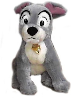 Disney Lady And The Tramp Plush Tramp 30cm Doll Toy By Disney Shop Online For Toys In Indonesia