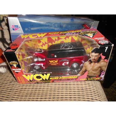 Racing Champions WCW Nitro Streetrods Target Exclusive Steve Goldberg 1:64 Scale Car