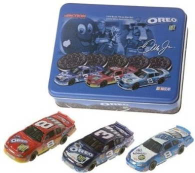No Sunglasses Variant Dale Earnhardt Jr #81 Red Oreo Ritz With Mini Replica Drivers Side of Car McFarlane NASCAR Series 6 Chase Alternate Variant Action Figure No Sunglasses by Unknown