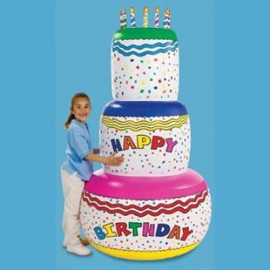 Excellent Jumbo Happy Birthday Inflatable Birthday Cake Party Decoration Funny Birthday Cards Online Unhofree Goldxyz