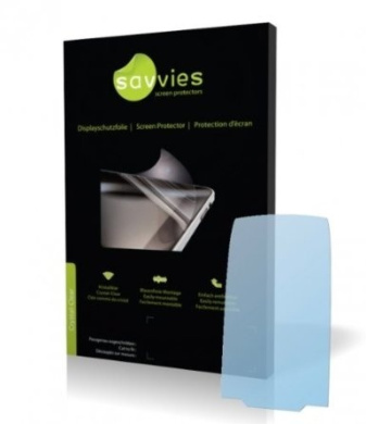 Savvies Crystalclear Screen Protector for Siemens Gigaset C59 100/% fits Protective Film Display Protection Film