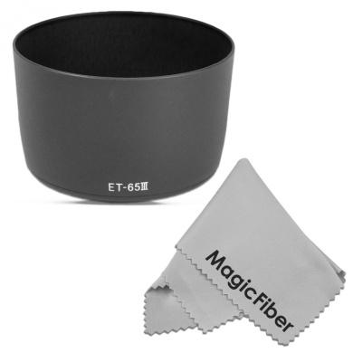 Flower Design Nw Direct Microfiber Cleaning Cloth. Panasonic Lumix DMC-GM5 Pro Digital Lens Hood + Stepping Ring 46-58mm 46mm