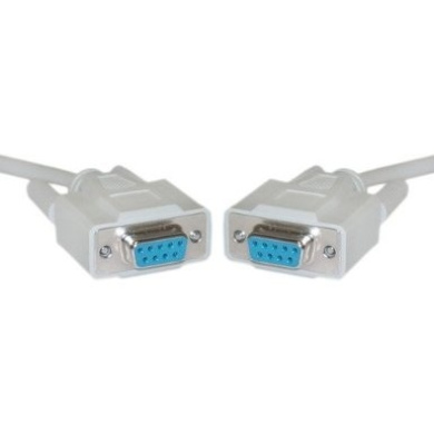 UL rated Male to Female RS-232 // DB25 1:1 PcConnectTM 50feet cable Serial Extension Cable