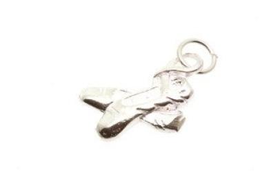 October Birthstone baby shoe sterlng silver charm .925 x1 Birthstones CF5500-OCT