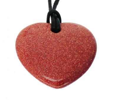 Lucky Sagittarius Birthstone Heart Pendant Zodiac Astrology Gemstone Sodalite