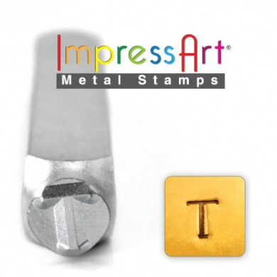 6mm Kappa Greek Letter Stamp ImpressArt