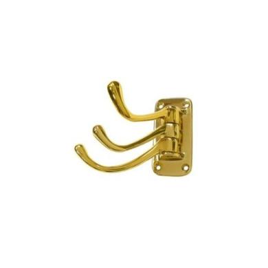 2-3//4 Kingston Brass BA317C Classic Robe Hook Polished Chrome 2-3//4