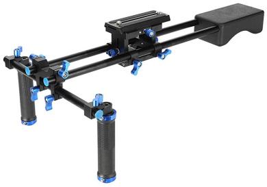 CX360V Handycam Camcorder MC50U Polaroid PL-STATT Rolling Mini Dolly Stabilization System With Pole Handle For The Sony HDR-XR160 PJ580V CX160 CX200 PJ30V TD10 PJ50V CX560V PJ10 XR100 PJ200 CX700V CX260V