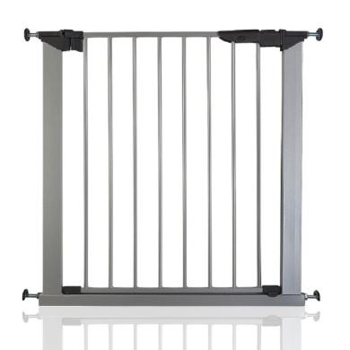 77.5cm-84.4cm BabyDan Avantgarde Baby Safety Stair Gate Cherry Wood and Black All Widths