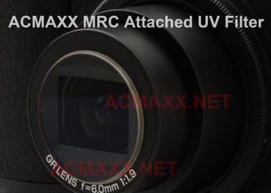 ACMAXX Lens Armor Multi-Coated UV Filter for Fujifilm XF1 X-F1 APSC Camera