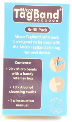 Micro Tagband Refill Band Pack For Skin Tag Remover Device By