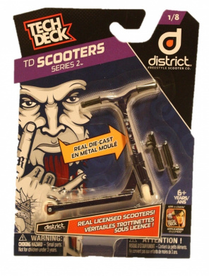 Rook District S-Series AP215 Alu Scooter Pegs