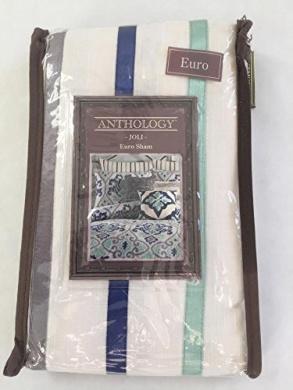 Anthology Whisper European Pillow Sham Pewter