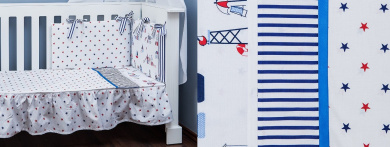 Made in EU Removable with Zipper OekoTex Vizaro Duvet Cover and Pillow Case 3 Pieces Set for Cot 60x120 cm C Little Sailing Boat 100/% Cotton Cot Bumper