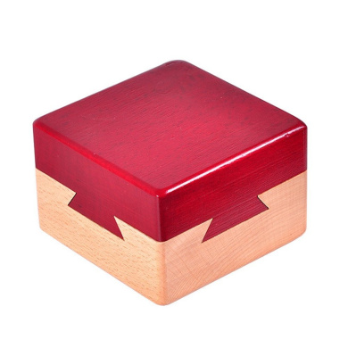 WISDOMTOY 9 Hole Ball Blocks Wooden Brain Teaser Box Puzzle Game Educational Toy for Kids and Adults zj-toy