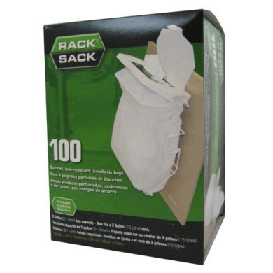 Kitchen Refill 100 Count Rack Sack Bags