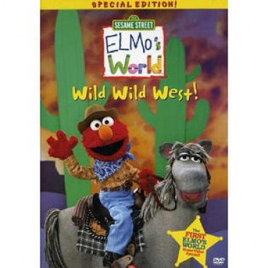 Elmo S World Wild Wild West Childrens Dvd By Sesame Street