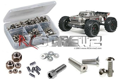 RC Car C26956SILVER R Axle Housing Kit for Vaterra Twin Hammers 1.9 Rock Racer