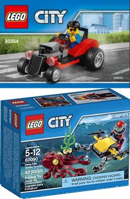 Hot Rod Lego City Polybag 30354 Limited