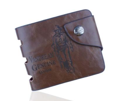 Mala Medium Leather Flapover Purse with RFID Protection Style origin  32565 New