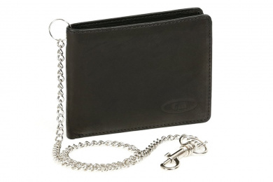 CAPPIANO Gents Genuine Leather Slim Front Pocket 11 Credit Card Holder Billfold Wallet for Men