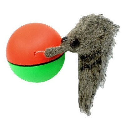 Shangwelluk Motorized Rolling Ball Toys Electric Beaver Ball Rolling Moving Bath Play Toys Random Color for Baby Kids Children