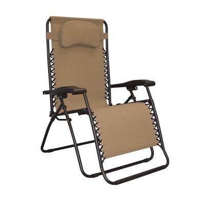 Caravan Sports Infinity Oversized Zero Gravity Chair Brown By Caravan Canopy Shop Online For Homeware In Fiji