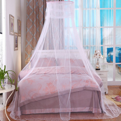 Butterme Dome Bed Canopy Netting Princess Mosquito Net for Babies and Adults White