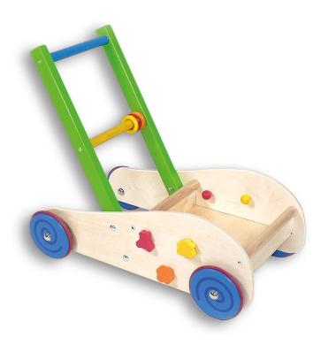 ☝ labebe Orange Fox Mobility Walker for 1-3 Years New Baby Walker 3-in-1 Use as Push Along Toy Wooden Walker Kid//Pull Along Wagon//Easy Walker Children//Kid Wooden Wagon//Push Along Wagon