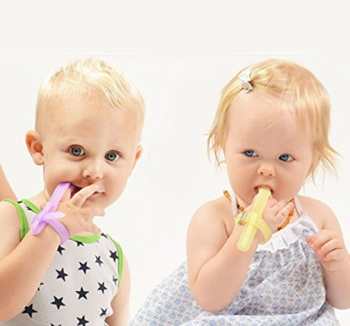 White SUPVOX 2pcs Finger Sucking Stop Thumb sucking Kids Finger Guard Stop Infant Finger Sucking No Scratch Mittens Size S