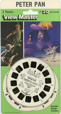 Stanley 3 Reels on Card Playhouse Disney NEW Classic ViewMaster