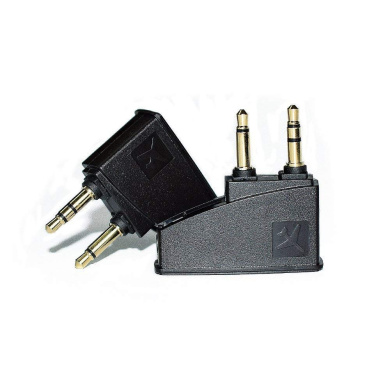 Headphone Airline Adapter Connector For Bose QC2 QC3 QC15 QC20 QC25/&AE2 AE2W BT
