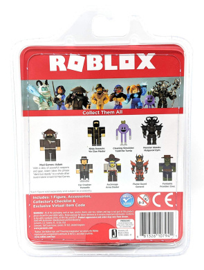 NEW Virtual Code Includes: One Figure Roblox Mix /& Match Mad Games: Adam