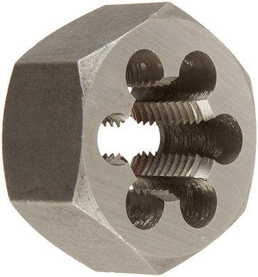 Alfa Tools MHD71010 3-0.50mm Carbon Steel Metric Hex Die,