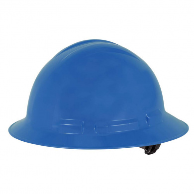 Royal Blue One Size ANSI Type I Dynamic Safety HP261R//17 Whistler Hard Hat with 6-Point Nylon Suspension and Sure-Lock Ratchet Adjustment
