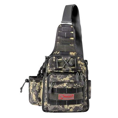 YuanWen Chest Backpack Militay Tactical Chest Sling Pack Molle Shoulder Bag Laptop Backpack Waterproof Rucksack for Hiking Camping Trekking