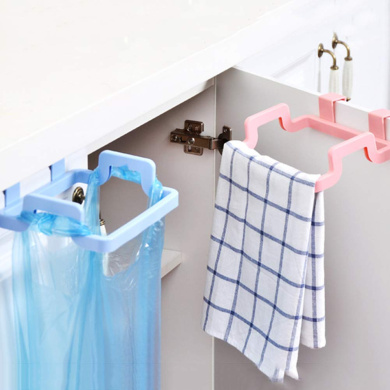 Transparent Plastic Bags Holder Recycling Grocery Pocket Containers Daaimi Rubbish Bags Dispenser for Kitchen Hanging Mesh Folding Garbage Bags Organizer
