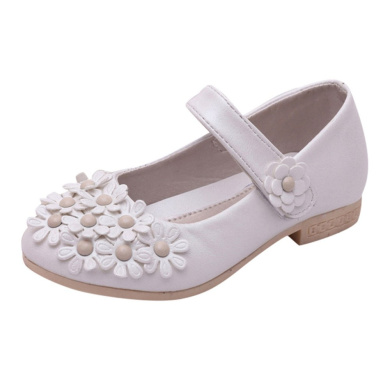 Cloudro Little Girl Princess Sandals Low Medium Heel Fringe Shoes for 1-12 Years