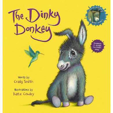 Stinky Winky Silly Willy Off-key Donkey A Fun Rhyming Animal Bedtime Book For Kids