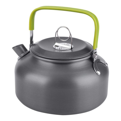 1.1L Portable Camping Campfire Kettle Camping Water Kettle Teapot Coffee Pot UK