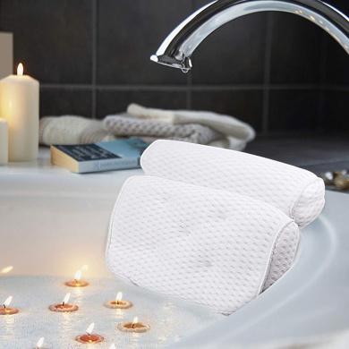 White Iconikal Deluxe Spa Bath Pillow