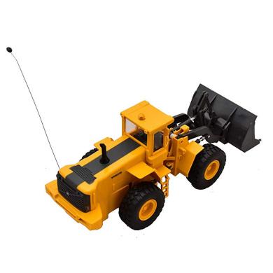 Camion Man F2000 Lowboy W// Backhoe Loader 1:43 Model NEW RAY