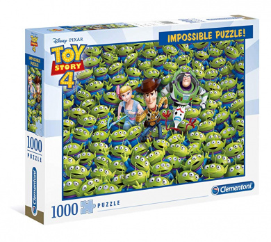 Victorian Garden 1000 Piece Jigsaw Puzzle CLEMENTONI 39172.1