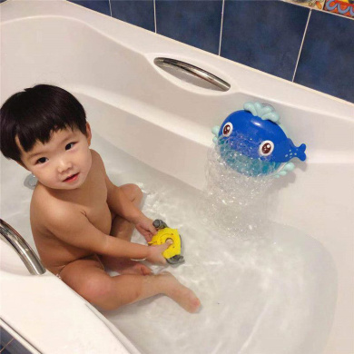 A PBOX Frog Baby Bath Toy,Bubble Toy Musical Toy Bubble Maker with Nursery Rhyme Bathtub Bubble Toys for Infant Baby Children Kids Happy Tub Time,Bubble Machine for Boys and Girls Aged 1 2 3 4
