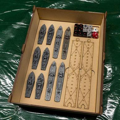 Wind Rose GameCraft Miniatures Black Seas Durable MDF
