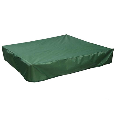 Sandbox Cover with Drawstring,Water Resistant and Dustproof Sandpit Cover for Outdoor Avoid The Sand and Toys Contamination Sandboxes Set Cover,Oxford PU Coating UV Protection Sandbox Canopy